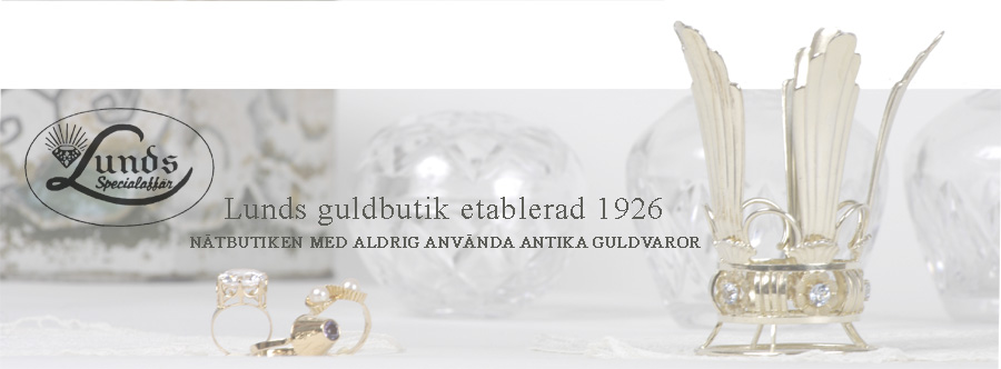 Lunds Guldbutik-Silver-Retro