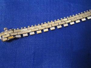 Halsband i 18 karats vitguld.Fantasi.